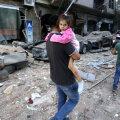 Улица Бейрута после взрыва