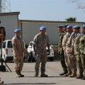 Eesti ohvitser andis üle ÜRO vaatlusgrupi juhtimise