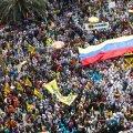 Venezuela linnade tänavad täitsid presidendivastased massimeeleavaldused