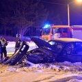 Neljas liiklusõnnetuses sai viga neli inimest, üks jalakäija hukkus