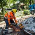 Ehitustööd Narva maanteel
