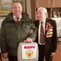 FOTOD | Kohtla-Järvel Venemaa presidenti valinud veteran meenutas fašistide saabastega väljapeksmist Norrast