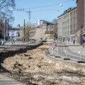 Pärnu maantee remonti alustati Tallinnas ajavaruga