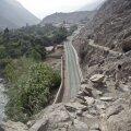 Tänaseni kasutatav lõik inkade teest Peruus.