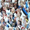 BLOGI JA FOTOD | Juubelipidu lõppes mitme lisalooga, lauluväljak oli viimaste nootideni rahvast täis