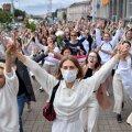 Täna lõuna ajal Minskis toimunud meeleavaldus