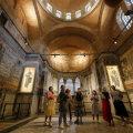 В переделанном под мечеть древнем монастыре Хора в Стамбуле закрыли расписные арки и мозаики