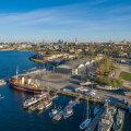 Meremuuseumi Lennusadama hoonet köetakse ja jahutatakse merevee abil.