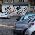 Sellel parkimisplatsil asus kunagi kunstiakadeemia