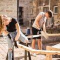 EKA tudengid ehitavad RMK-le metsa suured ruuporid
