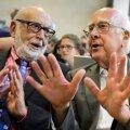 Higgsi osake võitis Nobeli.