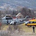 FOTOD ja VIDEO: Alpides alla kukkunud reisilennukini pääseb vaid kopteritega või jalgsi