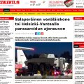 Vene lennukilt laaditi Helsingi Vantaa lennuväljal maha soomuk