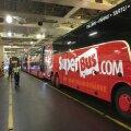 Superbus lõpetas Eestis tegevuseja esmaspäeva õhtul viis Tallinki laev kõik Superbusi punased bussid Tallinnast Helsingisse.