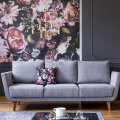 ФОТО | Тренды в интерьере гостиной на 2021 год: цветочные принты, яркие цвета и никакой открытой планировки