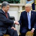 BBC: Porošenko ostis Trumpi advokaadilt 400 000 dollari eest kohtumise USA presidendiga