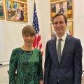 Kersti Kaljulaid ja Jared Kushner