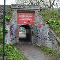 Каменный тоннель на улице Котка закроют на три недели на ремонт
