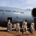 ФОТО | На базу в Мали прибыло новое эстонское подразделение