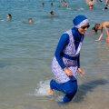 Burkiinis naine 27. augustil Marseille´rannas