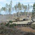 DELFI VIDEO JA FOTOD: Kaitseväe keskpolügoonil kõmmutasid USA tankid sihtmärkide pihta