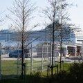 Kruiisilaev MSC Poesia Tallinna sadamas. Pilt on illustreeriv.