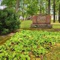 Mälestusmärk Pärnu vanapargis