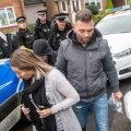 Paul Gait ja tema abikaasa Elaine pärast vahi alt vabastamist