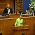 Kersti Kaljulaid riigikogu avaistungi kõnes: meie erakondade arusaam sellest, mis on riik ja inimeste vabadused, on erinevamad kui kunagi varem sel sajandil