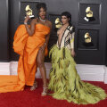 FOTOD   Lõpuks natukene glamuuri: staarid pääsesid Grammy'de jagamisel punasele vaibale