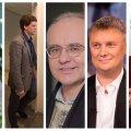 Riina Rõõmus, Joel Sarv, Erik Roose, Urmas Oru, Jaanus Lilleberg