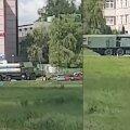 Valgevenes tehtud videod näitavad raketisüsteemide liikumist Leedu piiri lähistel