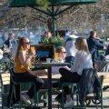 Stockholmi elanikud said juba aprilli lõpus sooja ilma nautida.