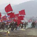 Lõunakorealased mängivad läbi Korea sõja Nakdongi lahingut.