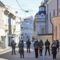 Leedu muutis näomaski kandmise trahvi ähvardusel kohustuslikuks