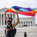 Meeleavaldaja eile Washingtonis ülemkohtu ees