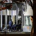 Rootsis Helsingborgis lasti õhku politseimaja sissepääs