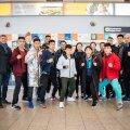 Hiina võistluskond saabus Tallinnasse