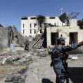 Suitsiidirünnaku toimumiskoht Kabulis