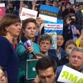 ФОТОНОВОСТЬ: Эстонский журналист хочет задать вопрос Путину