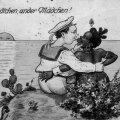 """Ühelt Saksa postkaardilt võib lugeda. """"Teine linn, teine tüdruk! Need postkaardid räägivad rohkem autori koloniaalsetest fantaasiatest kui naistest."""