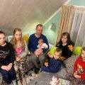 """""""Kodutunne"""" ehitab 7-liikmelise pere lastele oma toad, mida nad on oodanud üle kümne aasta"""