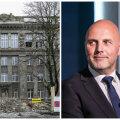 VIDEO: Agur ja Kõlvart andsid laienemise osas aru: kõik Tallinna koolihooned on renoveeritud 8-9 kuuga, GAG-i hoone pole erand