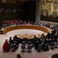 ÜRO julgeolekunõukogu peakorter New Yorgis.