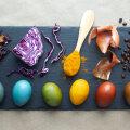 Looduslikud munavärvid köögikapist: vaata, milliste toiduainetega saad munadele põnevaid toone ja mustreid anda