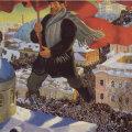 """Boriss Kustodijevi maal """"Bolševik"""" aastast 1920"""