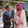 Macron Saudi Araabia kroonprints Salmanile: kunagi sa ei kuula