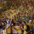 Pühapäeval protestis presidendi vastu sadu tuhandeid inimesi.