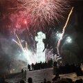 ФОТО И ВИДЕО С ДРОНА   С Новым годом! Большой новогодний праздник на площади Вабадузе увенчался прекрасным салютом