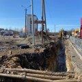 На въезде в Ласнамяэ через Нарвское шоссе периодически возникают заторы